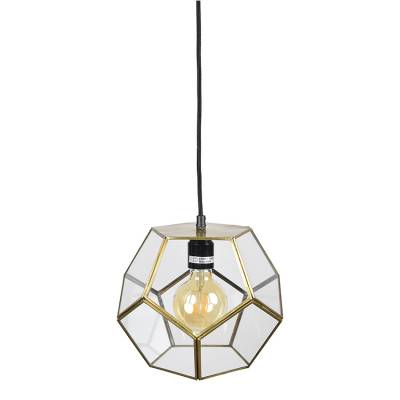 Hanglamp Geo1 Brass Antique
