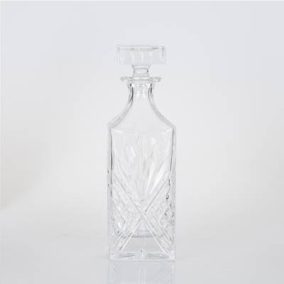 Decanter squere crystal schenkfles