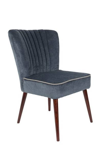 Dutchbone Chair Smoker Blue