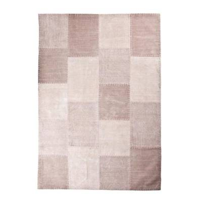 By-Boo Vloerkleed Patchwork Mono Pink 200x290