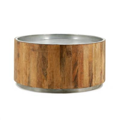 By-Boo Salontafel Tub Dark Metal