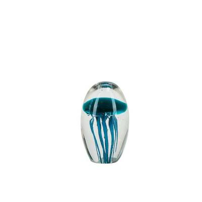 Glass Ball Jellyfish Turquoise