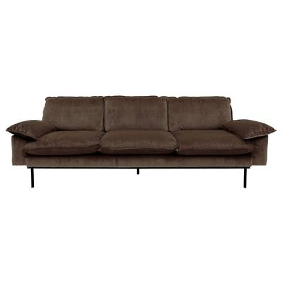 HKliving retro sofa 4-zits hazel