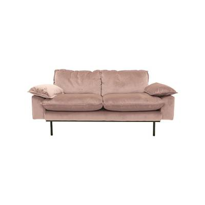 HKliving retro sofa 2-zits nude