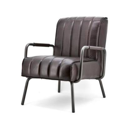 Fauteuil Marvin Donkerbruin