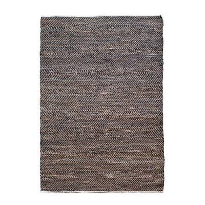 By-Boo Carpet Sisal Leather Black 160x230