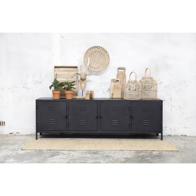 Tv-meubel Dex Vintage Black