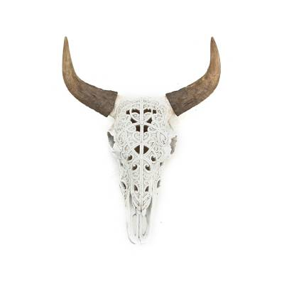 By-Boo OX Skull Art Natural