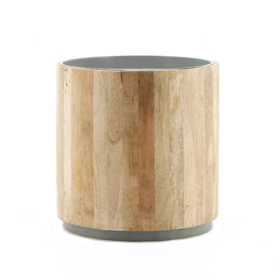 By-Boo Bijzettafel Tub Light Grey