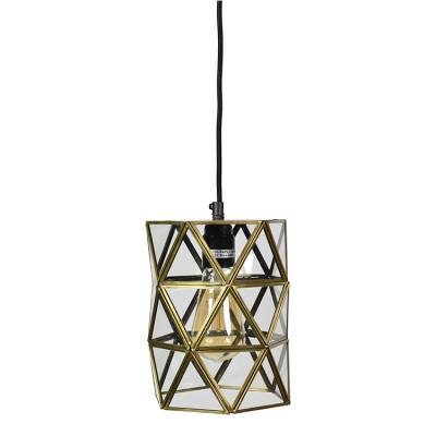 Hanglamp Geo3 Brass Antique