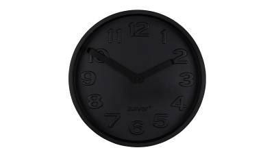 Zuiver Klok Concrete Time All Black