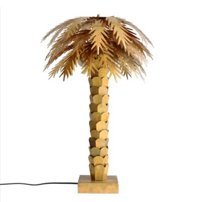 HK Living Lamp Palmboom Messing Goud