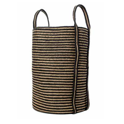 VTwonen Opbergmand Jute Stripe Medium