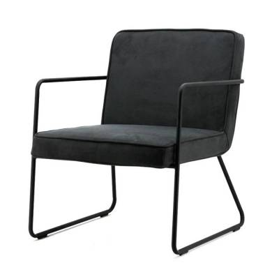 By-Boo Fauteuil Alpha Antraciet