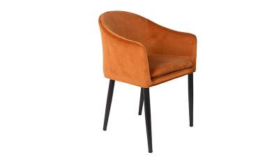 Dutchbone Armchair catelyn - Orange