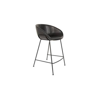 Feston Counter Stool Zwart
