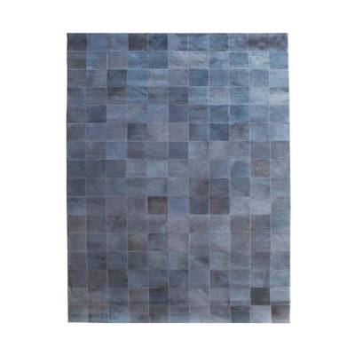 By-Boo Vloerkleed Patchwork Leather Grey