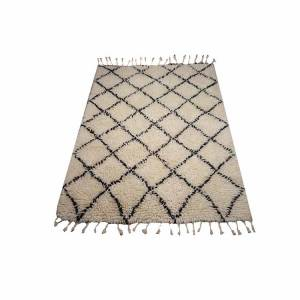 Vloerkleed Berber Shaggy Wool 200x300