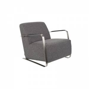Lounge Chair Adwin Dark Grey