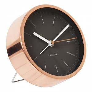 Karlsson Klok Minimal Black Copper
