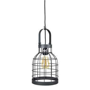 Hanglamp Bucket Small Black