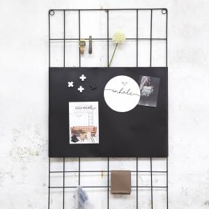 Magnetic Memo Board Wire 60x105cm