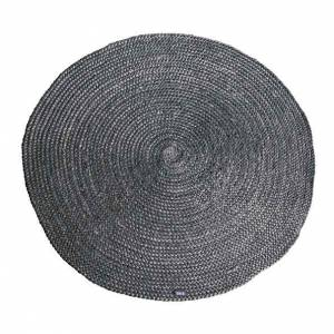 By-Boo Carpet Jute round - grey