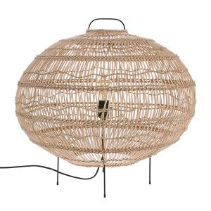Wicker Oval Shaped Vloerlamp HKLiving