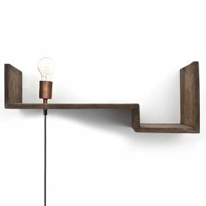 Top Shelf 75cm - brown