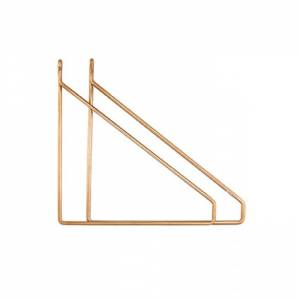 House Doctor Plankdrager Brass Koper Set Van 2