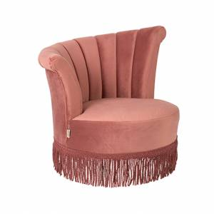 Dutchbone Fauteuil Flair Pink