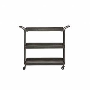 BePure Tea Trolley Metal Black